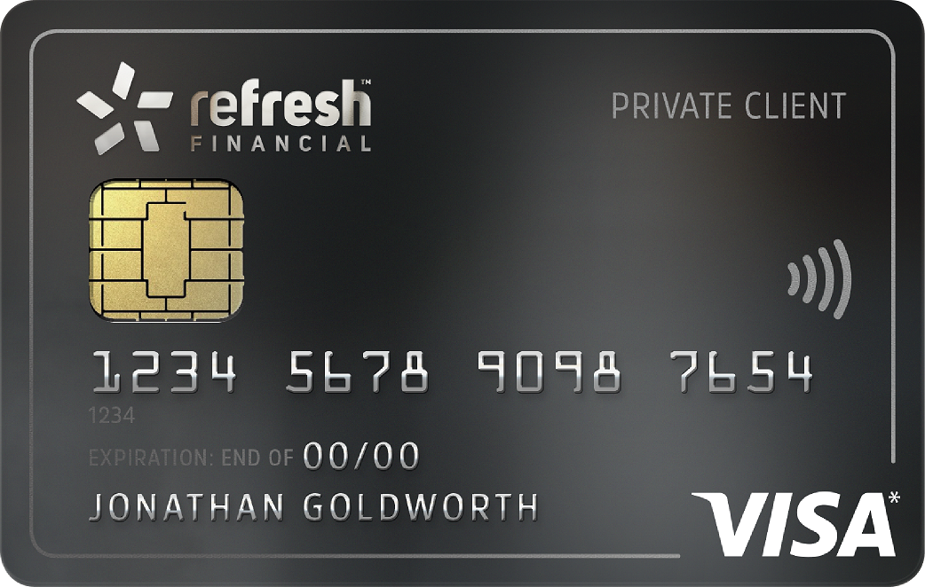 Refresh Secured Card
