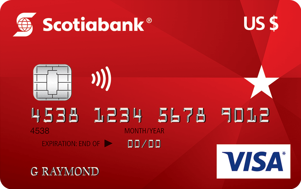 Scotiabank U.S. Dollar VISA Card